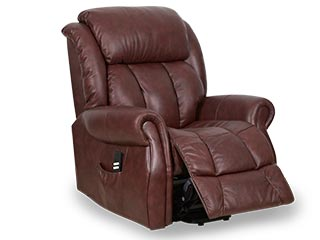 Wellington Leather Riser Recliner