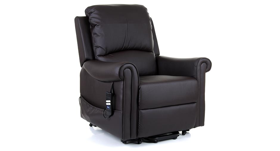 Warwick Leather Riser Recliner